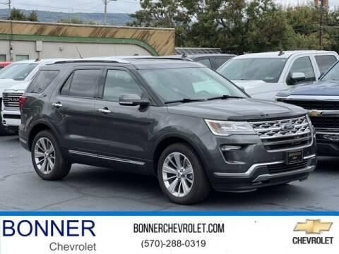 2018 Ford Explorer for sale at Bonner Chevrolet in Kingston PA