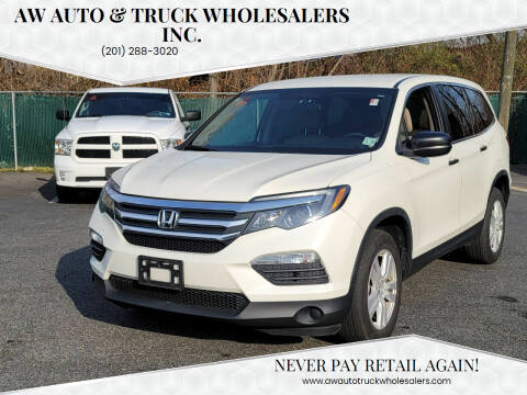2017 Honda Pilot for sale at AW Auto & Truck Wholesalers  Inc. in Hasbrouck Heights NJ
