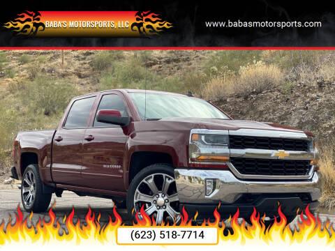 2017 Chevrolet Silverado 1500 for sale at Baba's Motorsports, LLC in Phoenix AZ