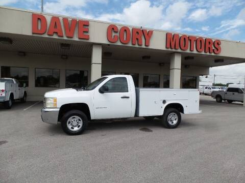 2007 Chevrolet Silverado 2500HD for sale at DAVE CORY MOTORS in Houston TX