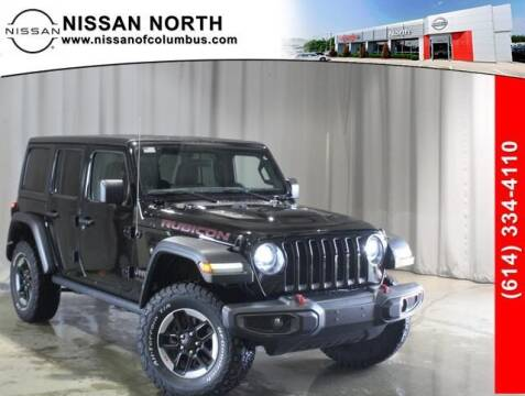 2018 Jeep Wrangler Unlimited for sale at Auto Center of Columbus in Columbus OH