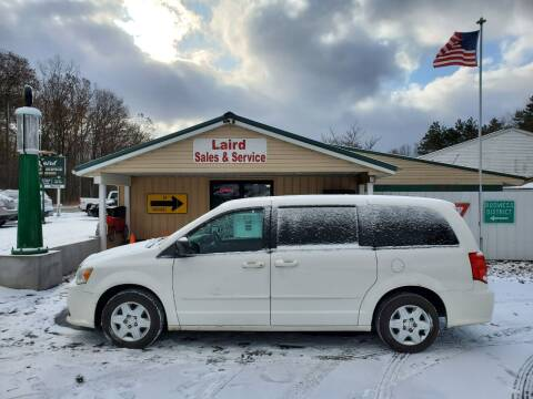 2012 Dodge Grand Caravan for sale at LAIRD SALES AND SERVICE in Muskegon MI