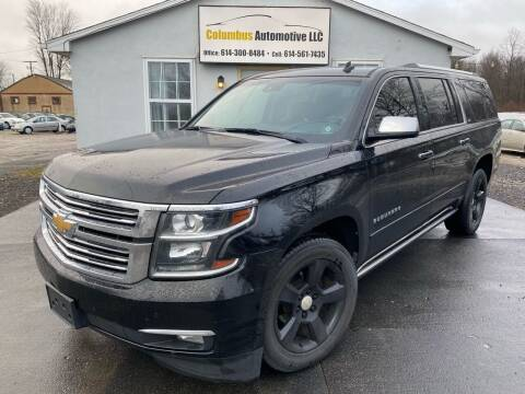 2015 Chevrolet Suburban for sale at COLUMBUS AUTOMOTIVE in Reynoldsburg OH