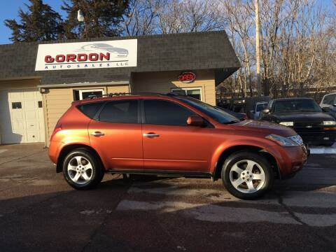 2004 Nissan Murano for sale at Gordon Auto Sales LLC in Sioux City IA