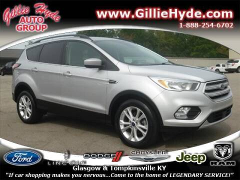 2018 Ford Escape for sale at Gillie Hyde Auto Group in Glasgow KY