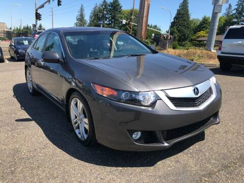 2010 Acura TSX for sale at KARMA AUTO SALES in Federal Way WA