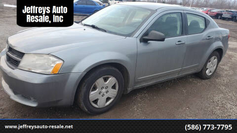 2008 Dodge Avenger for sale at Jeffreys Auto Resale, Inc in Clinton Township MI