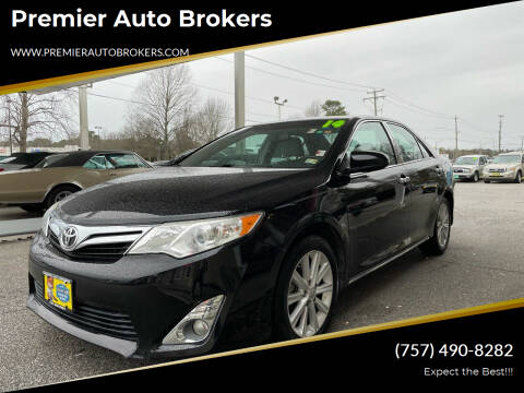 2014 Toyota Camry for sale at Premier Auto Brokers in Virginia Beach VA