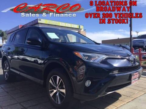 2017 Toyota RAV4 for sale at CARCO SALES & FINANCE in Chula Vista CA