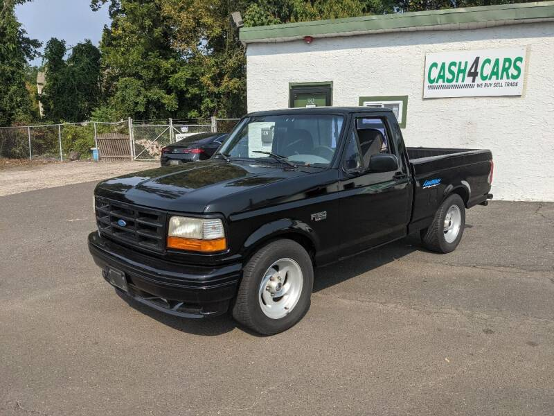 1995 Ford F-150 SVT Lightning for sale at Cash 4 Cars in Penndel PA