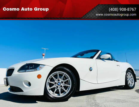 2005 BMW Z4 for sale at Cosmo Auto Group in San Jose CA