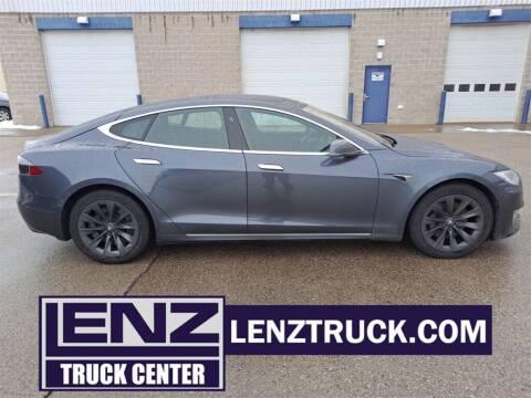 2019 Tesla Model S for sale at LENZ TRUCK CENTER in Fond Du Lac WI