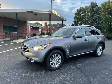 2015 Infiniti QX70 for sale at Jackie's Car Shop in Emigsville PA