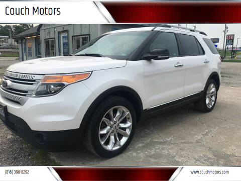 2013 Ford Explorer for sale at Couch Motors in Saint Joseph MO