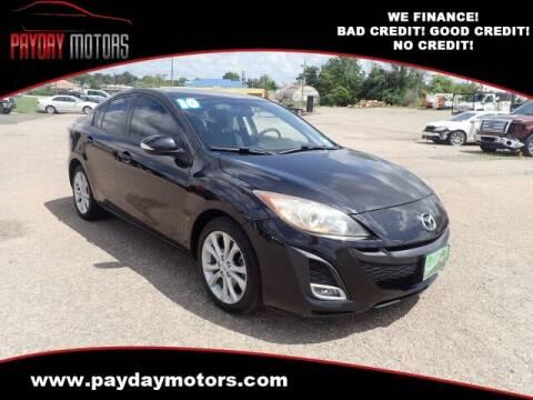 2010 Mazda MAZDA3 for sale at Payday Motors in Wichita KS