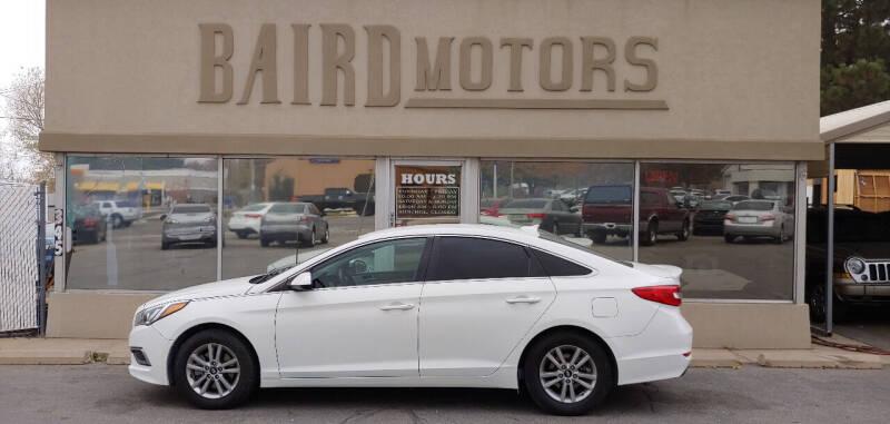 2016 Hyundai Sonata for sale at BAIRD MOTORS in Clearfield UT