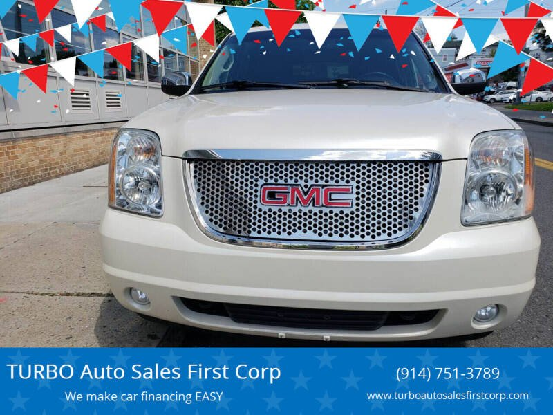 2012 GMC Yukon for sale at TURBO Auto Sales First Corp in Yonkers NY
