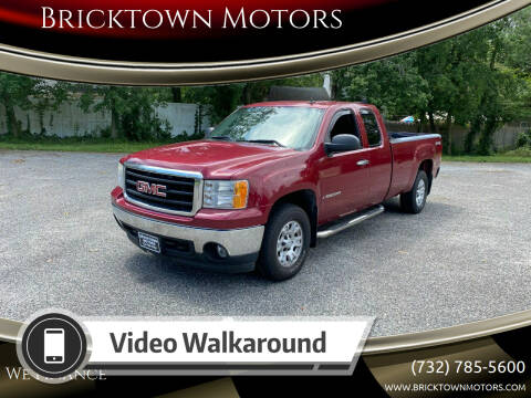 2007 GMC Sierra 1500 for sale at Bricktown Motors in Brick NJ