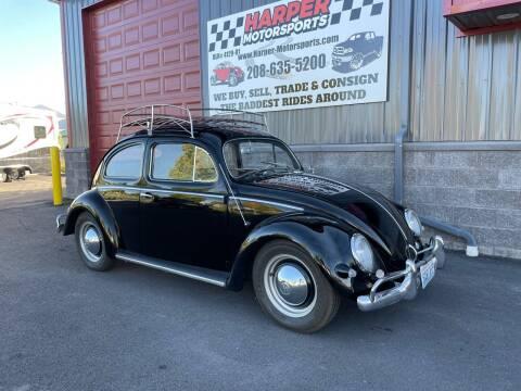1957 Volkswagen Beetle for sale at Harper Motorsports-Vehicles in Post Falls ID