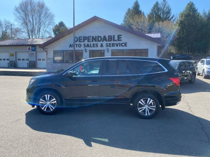 2016 Honda Pilot for sale at Dependable Auto Sales and Service in Binghamton NY