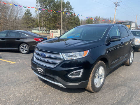 2017 Ford Edge for sale at Affordable Auto Sales in Webster WI