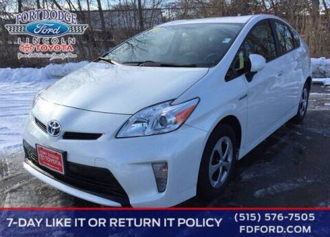 2014 Toyota Prius for sale at Fort Dodge Ford Lincoln Toyota in Fort Dodge IA