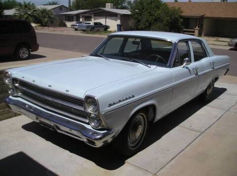 1966 Ford Fairlane for sale at Classic Car Deals in Cadillac MI