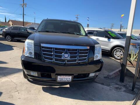 2007 Cadillac Escalade ESV for sale at Luxor Motors Inc in Pacoima CA