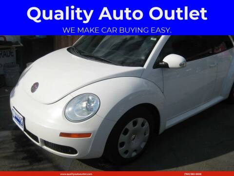 2010 Volkswagen New Beetle for sale at Quality Auto Outlet in Vista CA