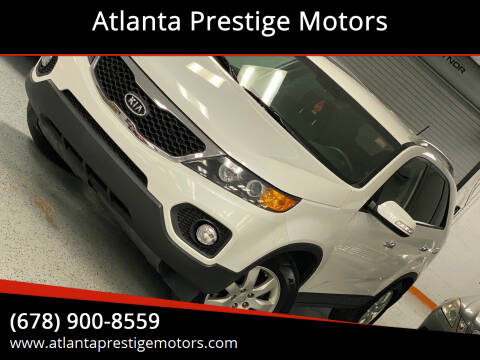 2013 Kia Sorento for sale at Atlanta Prestige Motors in Decatur GA