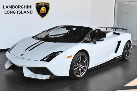 2013 Lamborghini Gallardo for sale at Bespoke Motor Group in Jericho NY