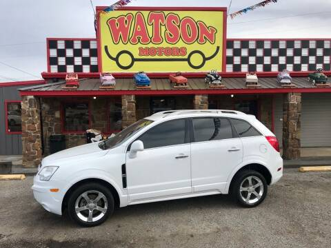 2013 Chevrolet Captiva Sport for sale at Watson Motors in Poteau OK