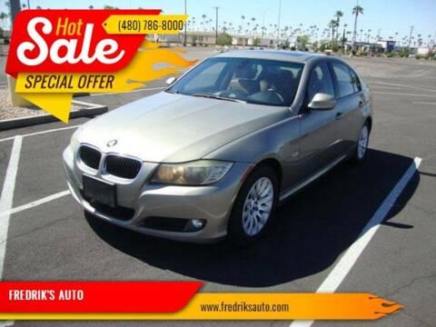 2009 BMW 3 Series for sale at FREDRIK'S AUTO in Mesa AZ