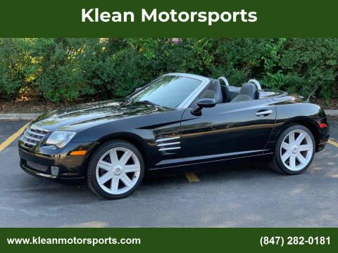2005 Chrysler Crossfire for sale at Klean Motorsports in Skokie IL