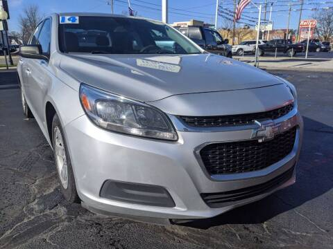 2014 Chevrolet Malibu for sale at GREAT DEALS ON WHEELS in Michigan City IN