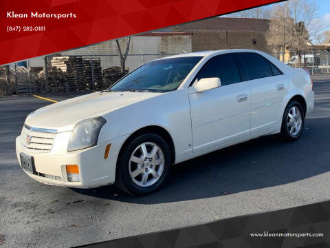 2007 Cadillac CTS for sale at Klean Motorsports in Skokie IL