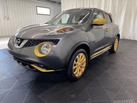 2015 Nissan JUKE for sale at Monster Motors in Michigan Center MI