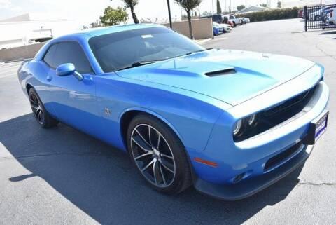 2015 Dodge Challenger for sale at DIAMOND VALLEY HONDA in Hemet CA