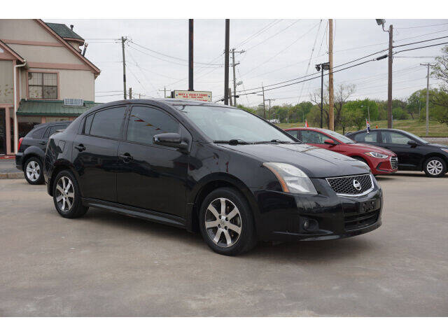 2012 Nissan Sentra for sale at Sand Springs Auto Source in Sand Springs OK