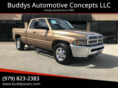 2001 Dodge Ram Pickup 2500 for sale at Buddys Automotive Concepts LLC in Bryan TX