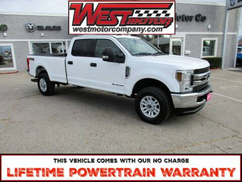 2018 Ford F-350 Super Duty for sale at West Motor Company in Hyde Park UT