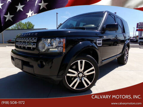 2012 Land Rover LR4 for sale at Calvary Motors, Inc. in Bixby OK