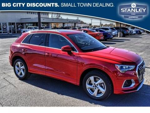 2019 Audi Q3 for sale at STANLEY FORD ANDREWS in Andrews TX