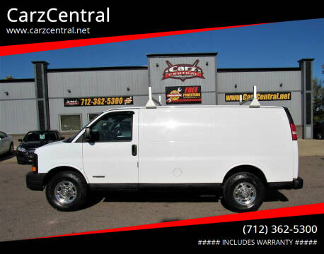 2005 Chevrolet Express Cargo for sale at CarzCentral in Estherville IA
