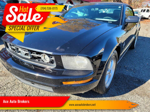 2008 Ford Mustang for sale at Ace Auto Brokers in Charlotte NC