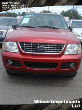 2004 Ford Explorer for sale at Wilson Investments LLC in Ewing NJ
