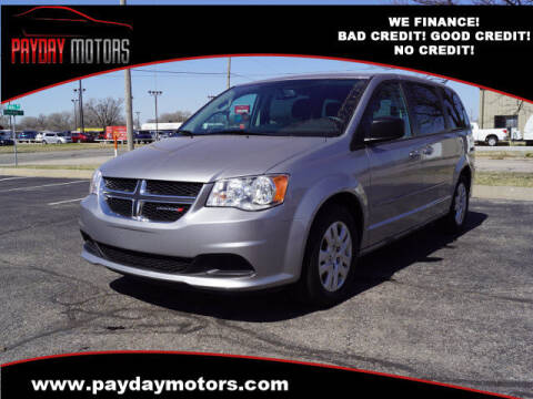 2017 Dodge Grand Caravan for sale at Payday Motors in Wichita And Topeka KS