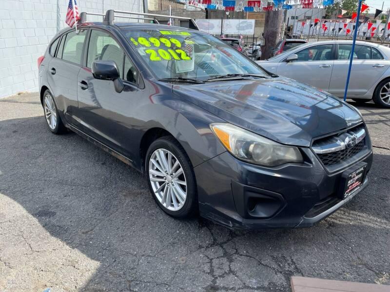 2012 Subaru Impreza for sale at North Jersey Auto Group Inc. in Newark NJ