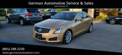2013 Cadillac ATS for sale at German Automotive Service & Sales in Knoxville TN