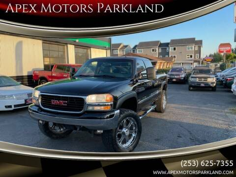 2001 GMC Sierra 1500 for sale at Apex Motors Parkland in Tacoma WA